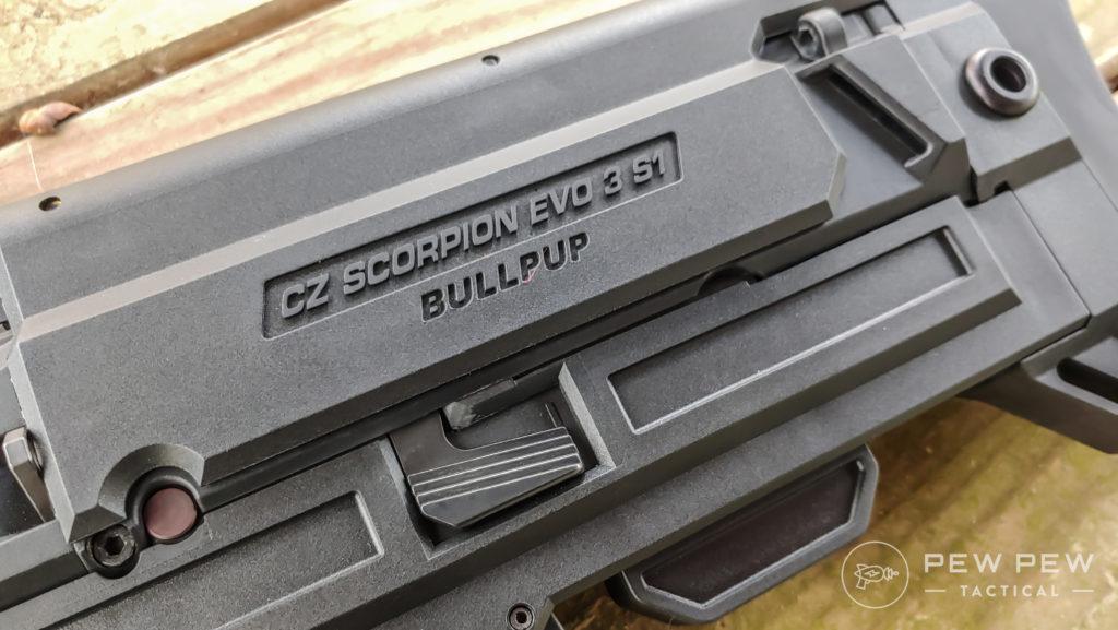 Bullpup Scorpion and Meprolight Foresight nice branding