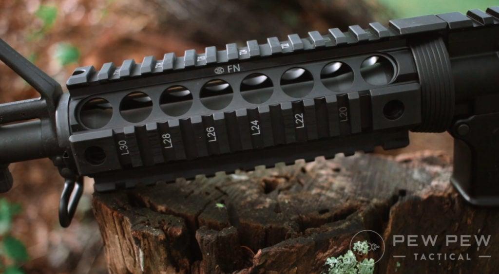 FN 15 quad rail