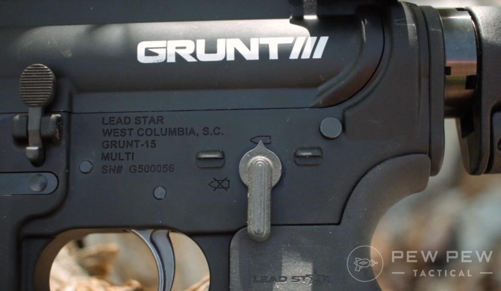 Lead Star Grunt AR-15 (5)