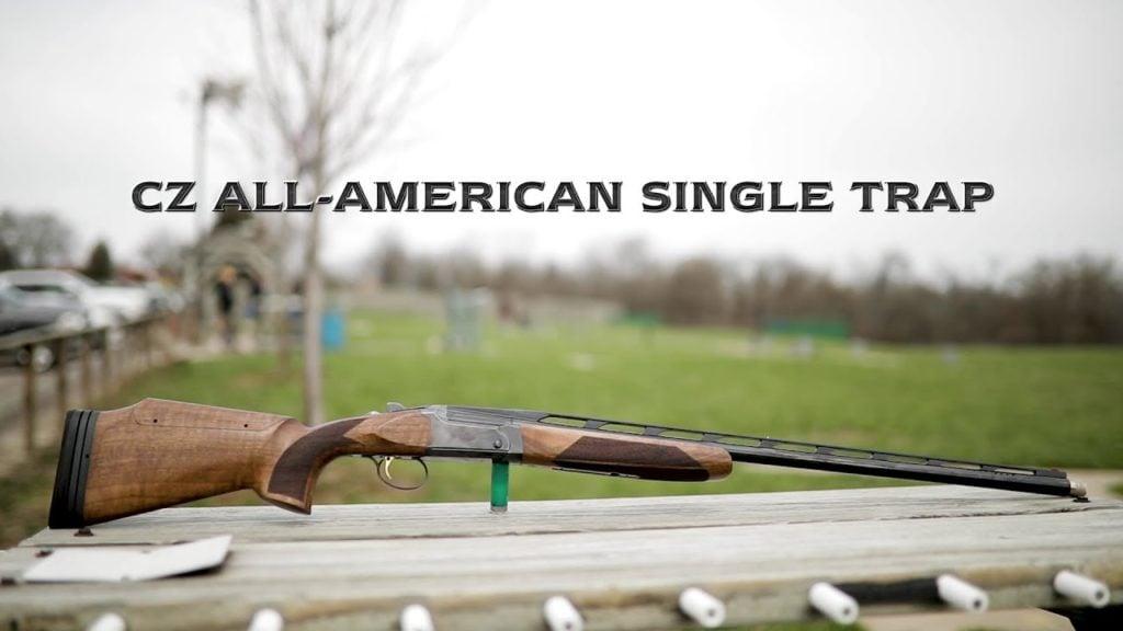 cz all american single trap