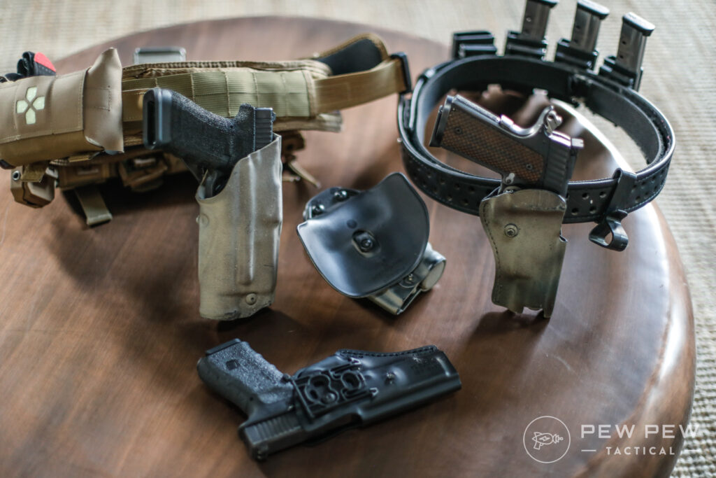 Assorted Safariland Holsters
