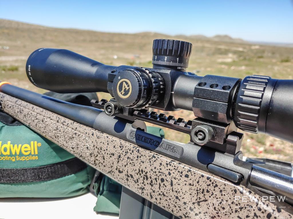 Bergara B-14 HMR and scope