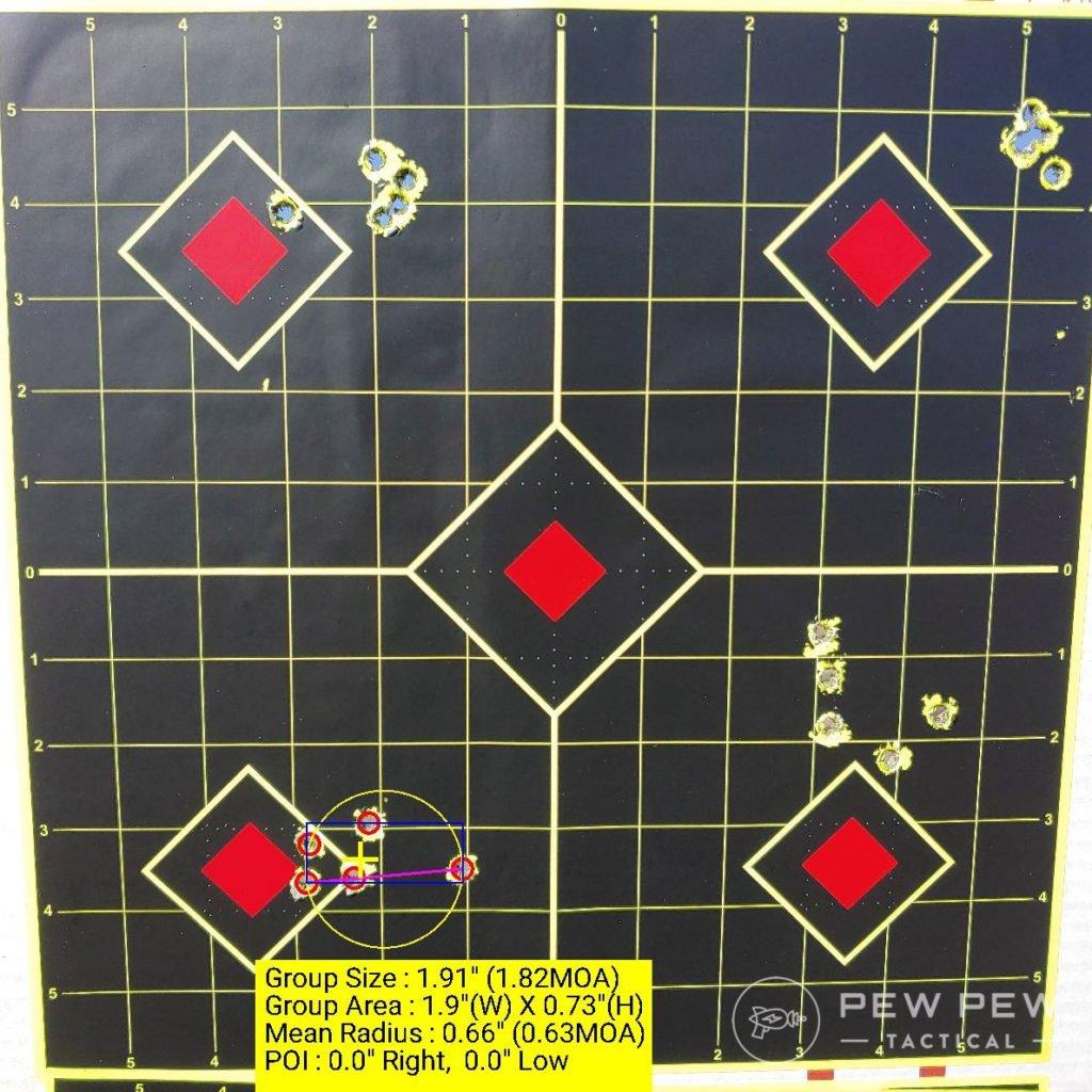 Bergara Hornady American Gunner 1.82 MOA