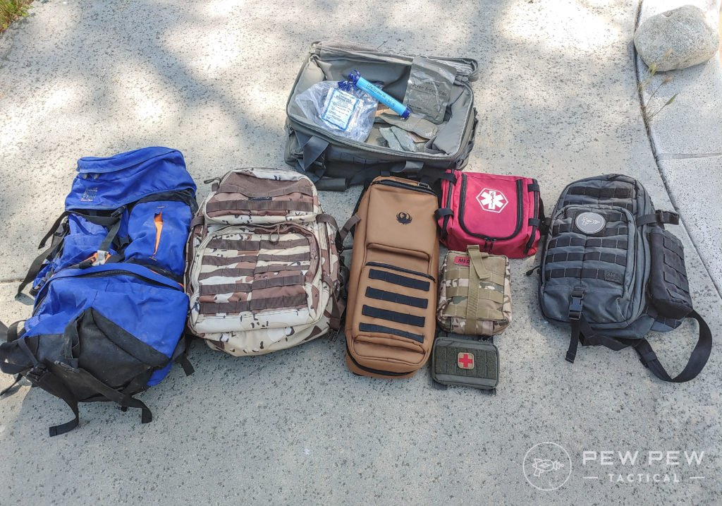 Bug out bags (3)