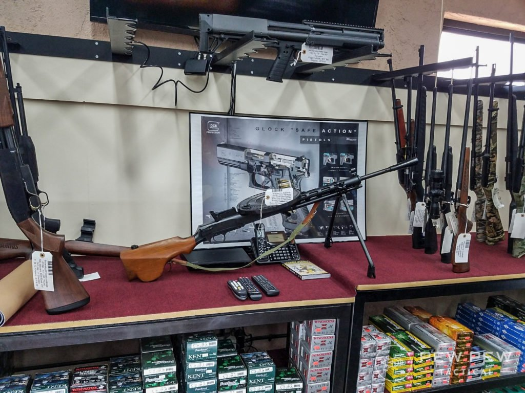 Sometimes you find cool stuff at gun stores.