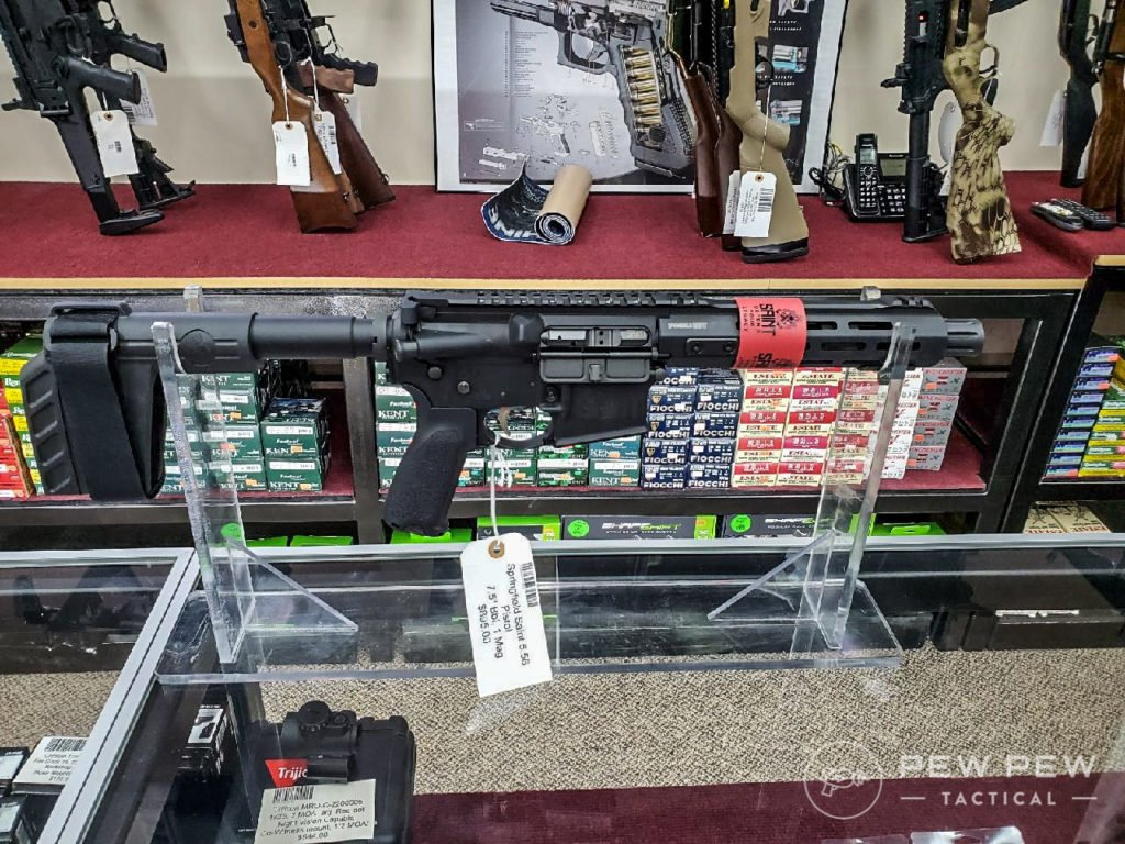 Before you buy a gun make sure you know the gun's MSRP and what it's being sold for at other stores and online.