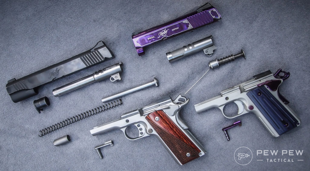 Field-strip 1911s and other semi-autos for a closer look at parts and possible wear.