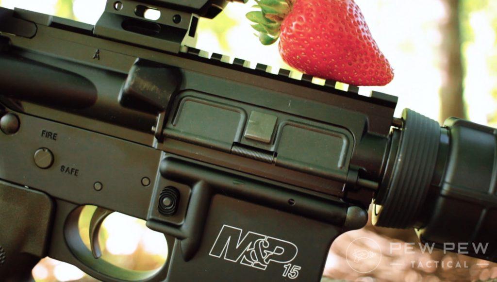 S&W M&P Sport II side of rifle