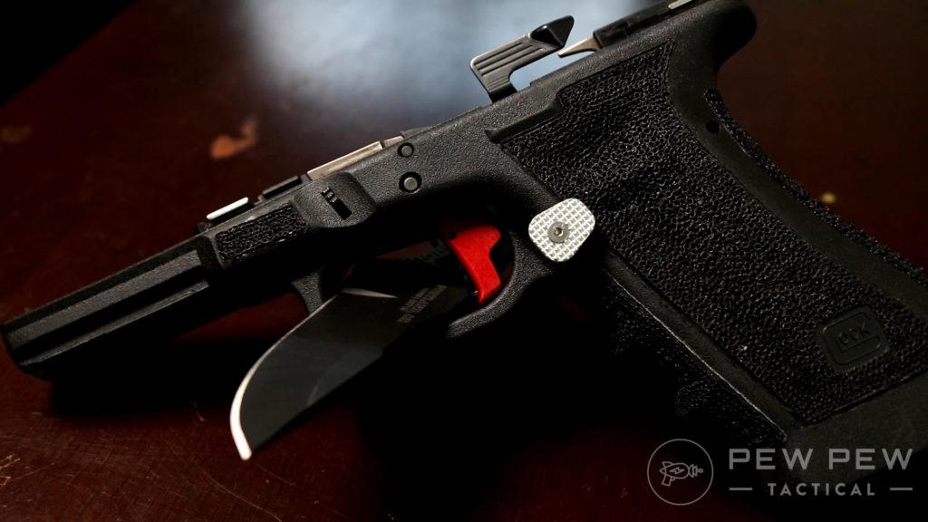 Stippled Glock 17 Frame