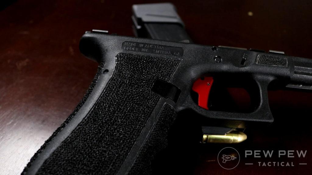 Stippled Glock 17 Frame 2
