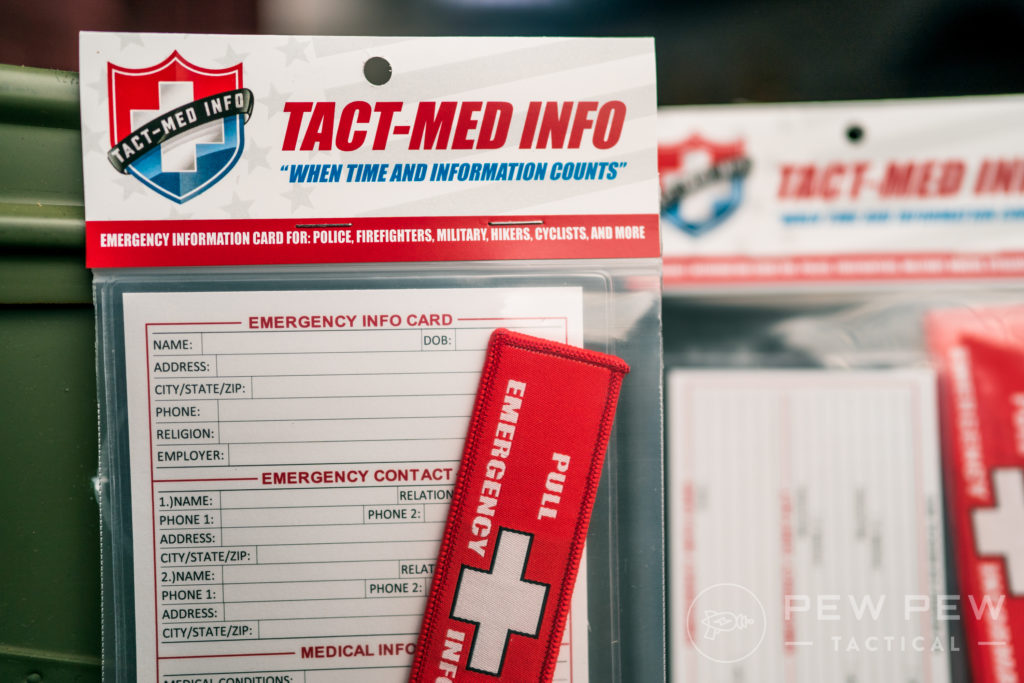 Tact-Med Info Cards (4)