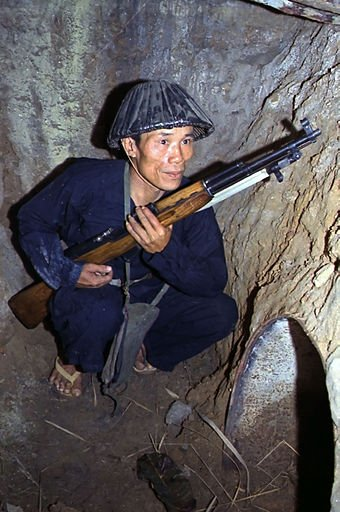Vietcong with Type 56 SKS in 1968