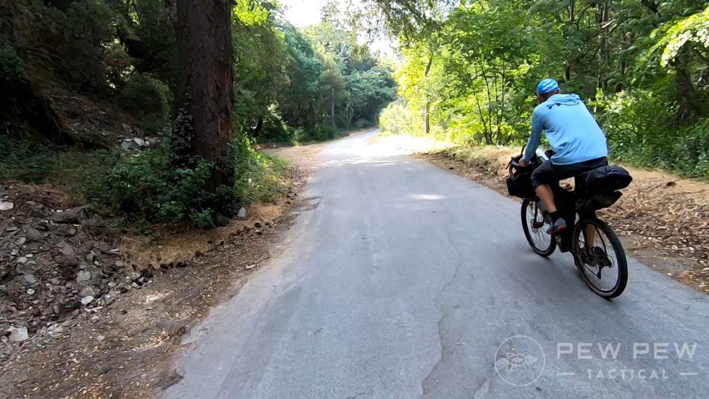 2. Biking to the Trail