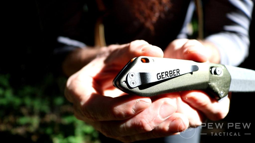 36. Gerber Highbrow Compact Clip Screws