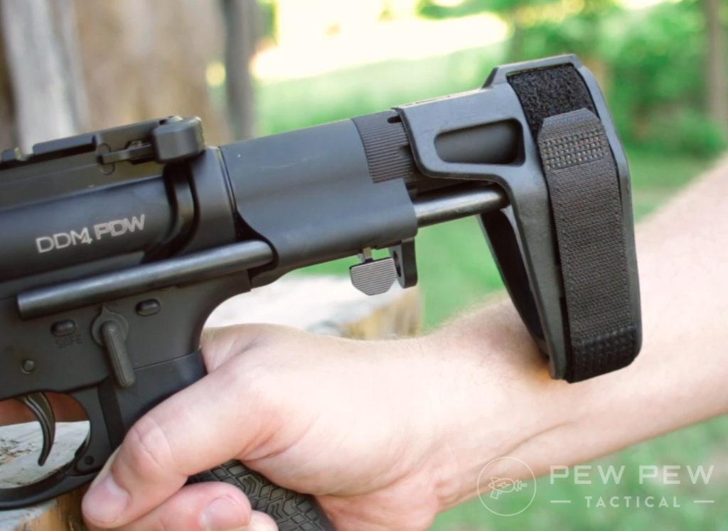 DDM4 300 Blk Maxim Defense CQB Pistol Brace