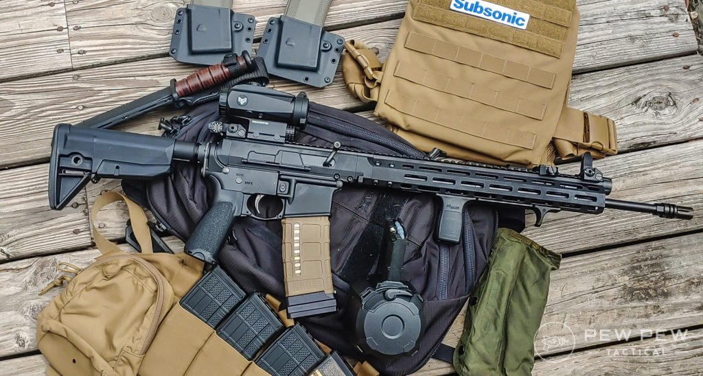 BRN-180 Fighting Rifle and Kit