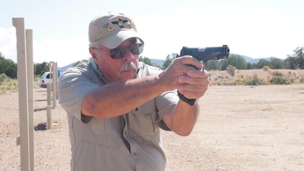Former border patrol agent and current firearms instructor Ed Head is a favorite of mine at Gunsite Academy.