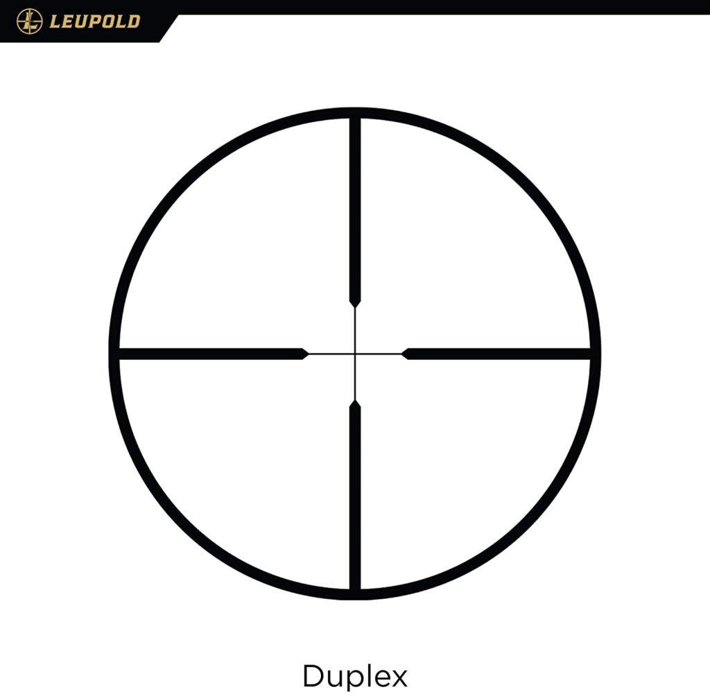 Leupold VX-3i 3.5-10x50mm Riflescope Reticle