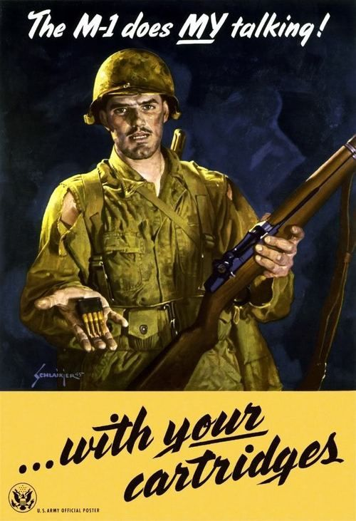 M1 WWII Poster