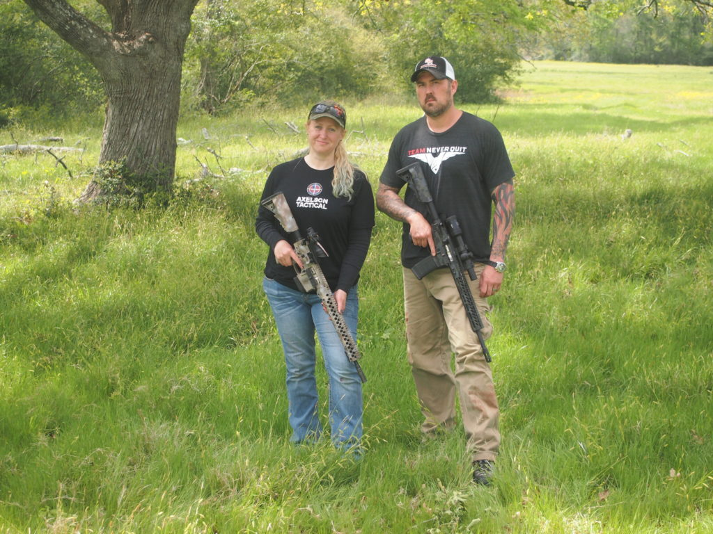 The author and Marcus Luttrell during a hunt. (Photo credit: Jeff Axelson)