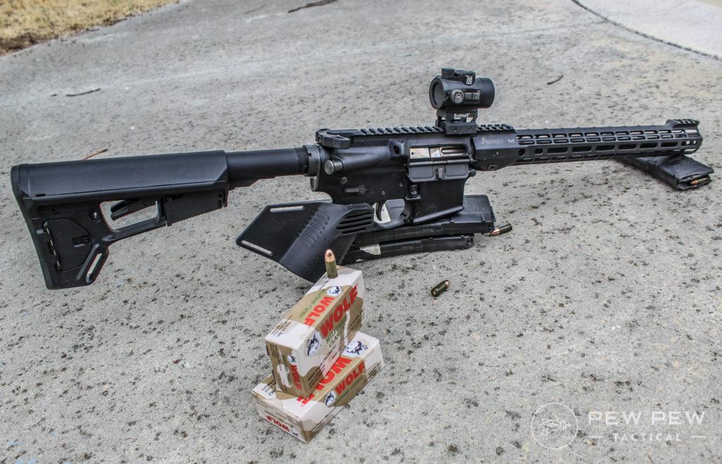 Pandemic AR-9 rear look