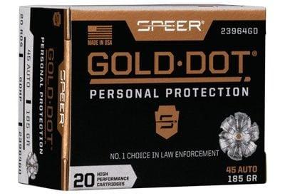 Speer Gold Dot 45 ACP 185gr