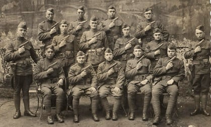 WWI American Doughboys with M1911s