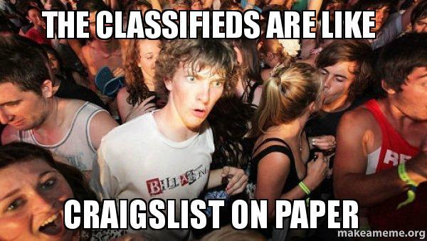 classifieds meme