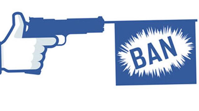 facebook gun ban