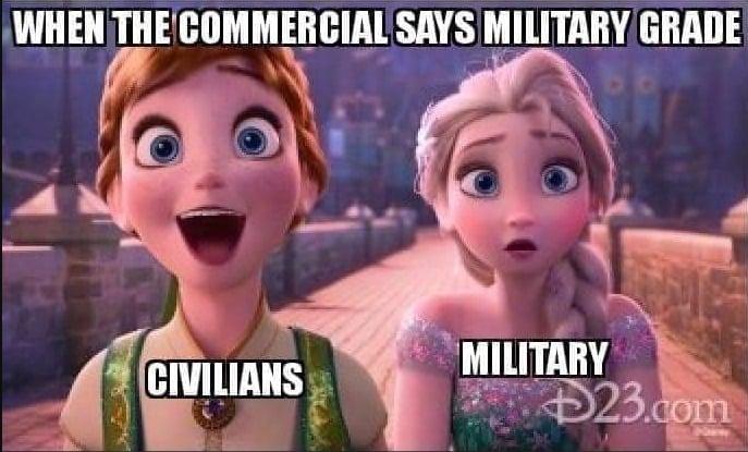 military grade meme