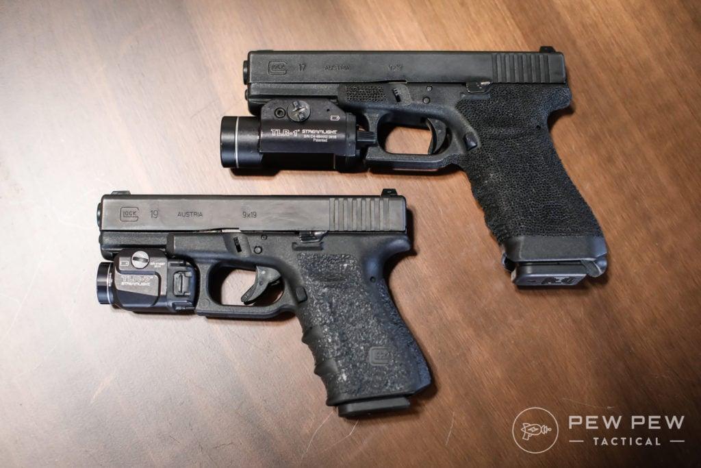 Glock 17 and Glock 19, Gen 3
