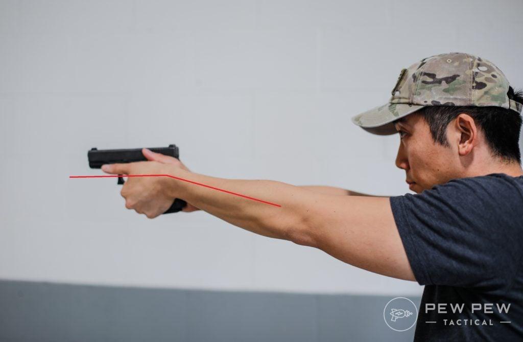 Handgun Grip Set Wrist