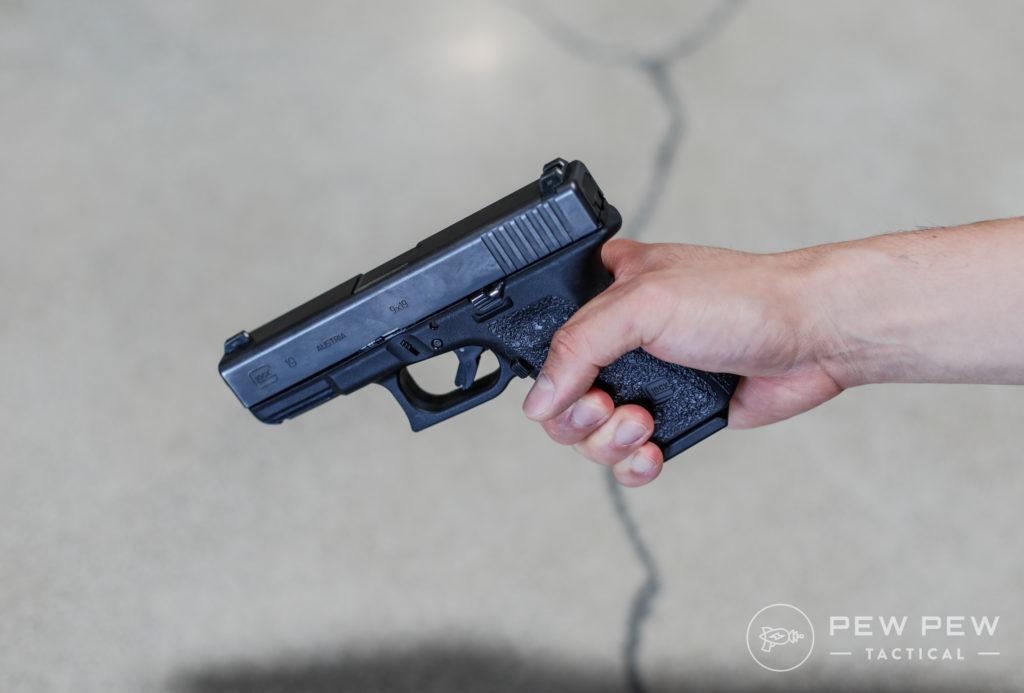 Handgun Low Grip