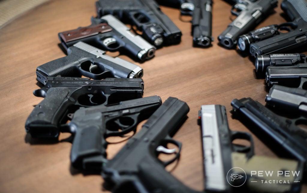 More CA Roster Handguns