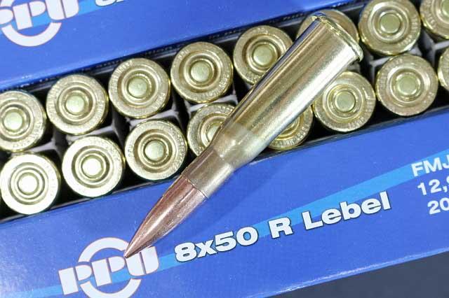 PPU 8x50 Lebel