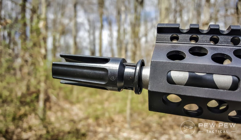 Reducing Recoil for an AR-15 Prong