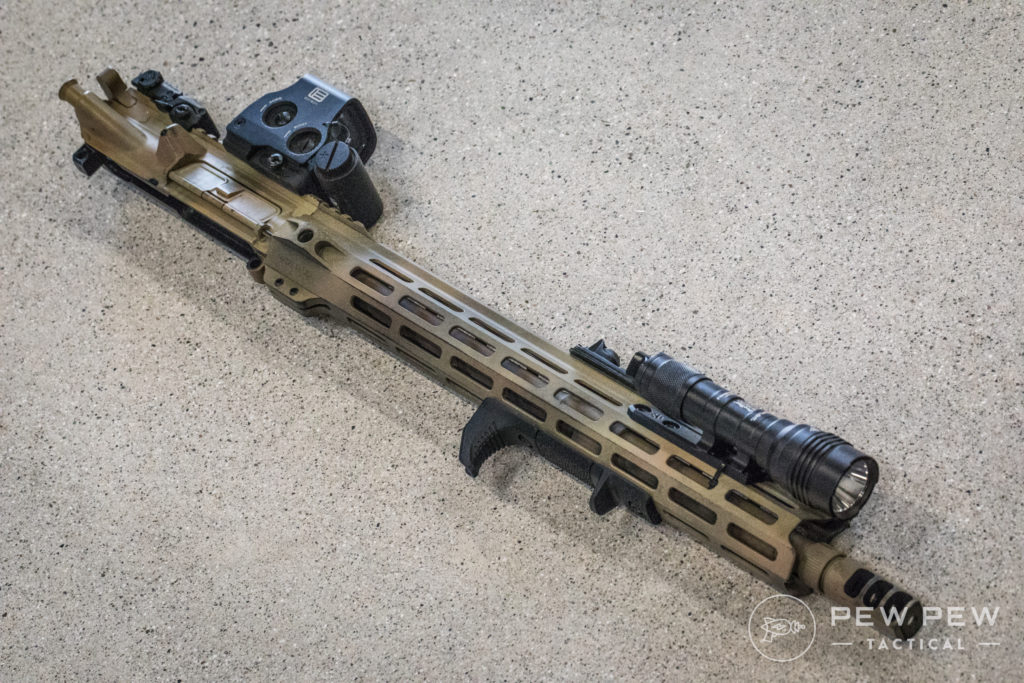 STNGR VLCN Modded Upper with DBAL and Unity Tactical