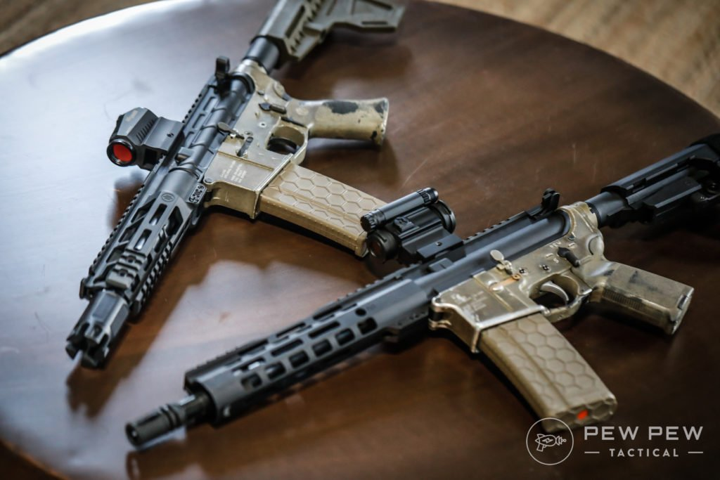Pair of AR-15 Pistols