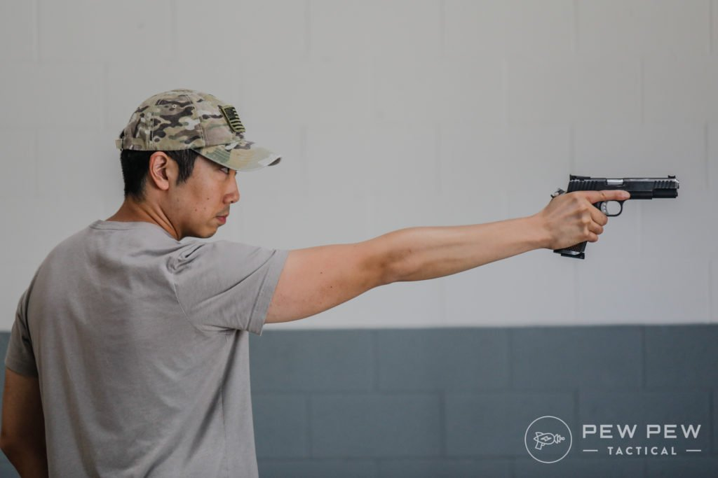 One Handed Shooting