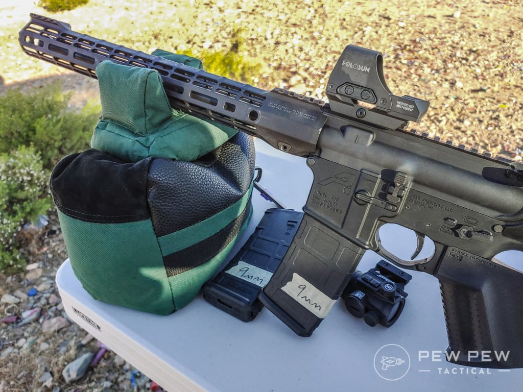 Pandemic AR-9 with EndoMags and Holosun HE510c GR Elite (2)
