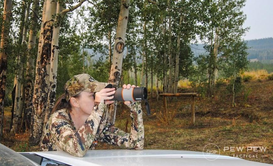 Elk Hunting Spotting Scope