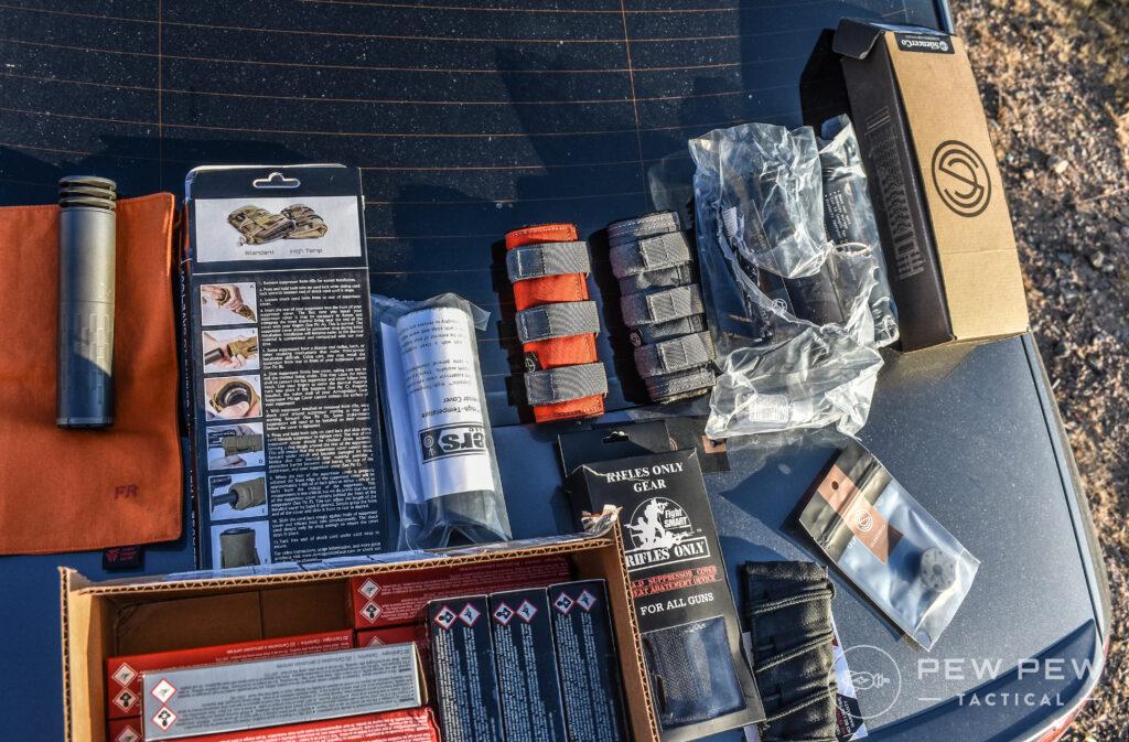 Suppressor Cover Testing Supplies