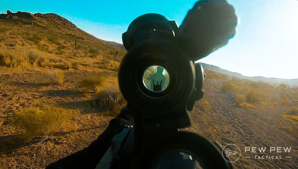 Aimpoint Comp M5 View Through