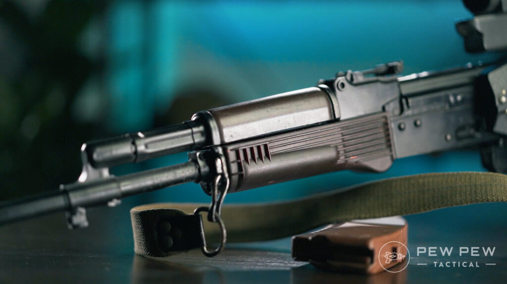 Lancaster Arms Rough Rider AK-74 Plum Furniture