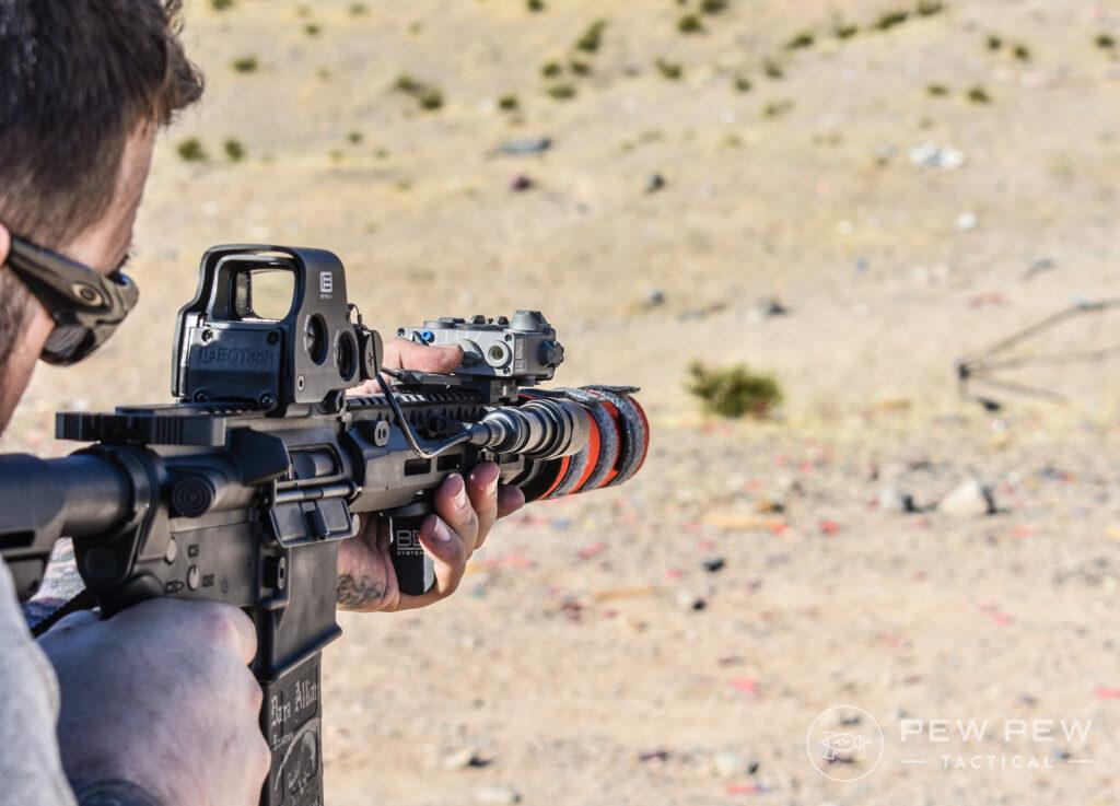 ColeTac HTP Suppressor Cover Shooting