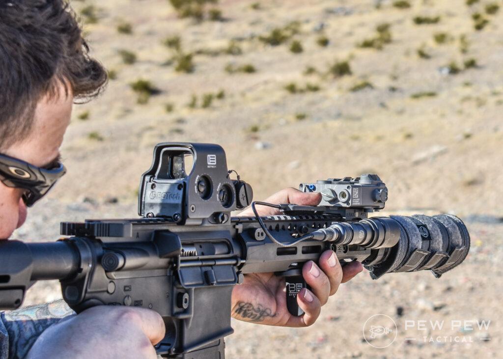 SilencerCo Suppressor Cover Shooting