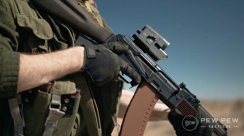 Lancaster Arms Rough Rider AK-74 Range