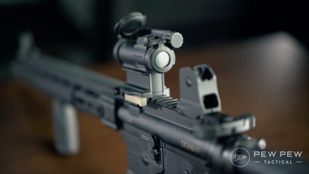Aimpoint Comp M5 On Rail