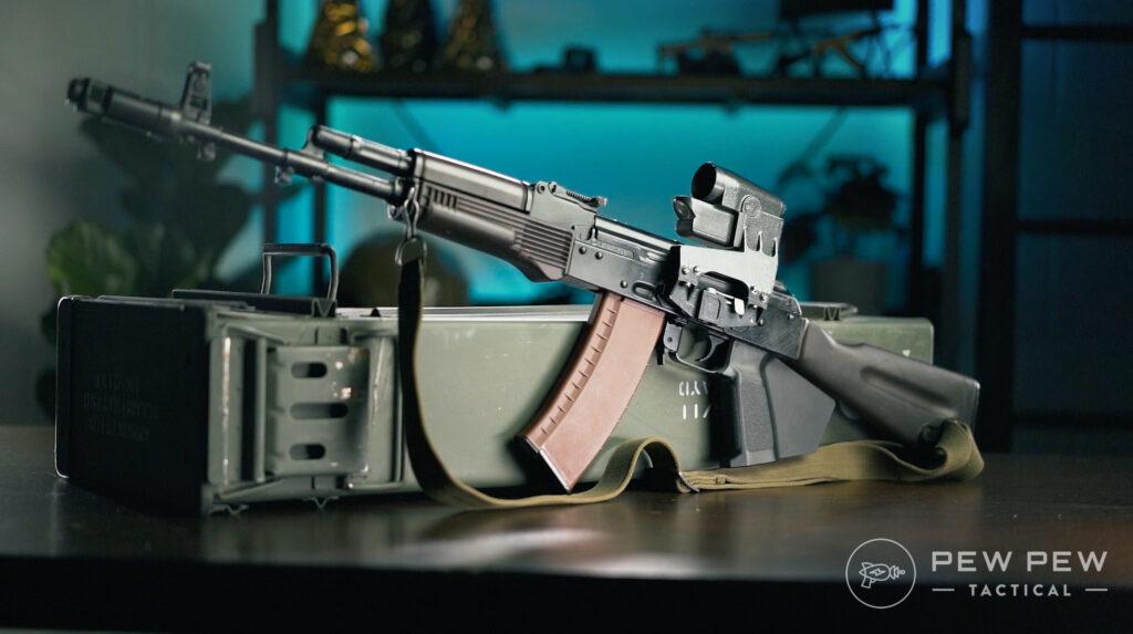 3-Lancaster Arms Rough Rider AK-74 Left Side