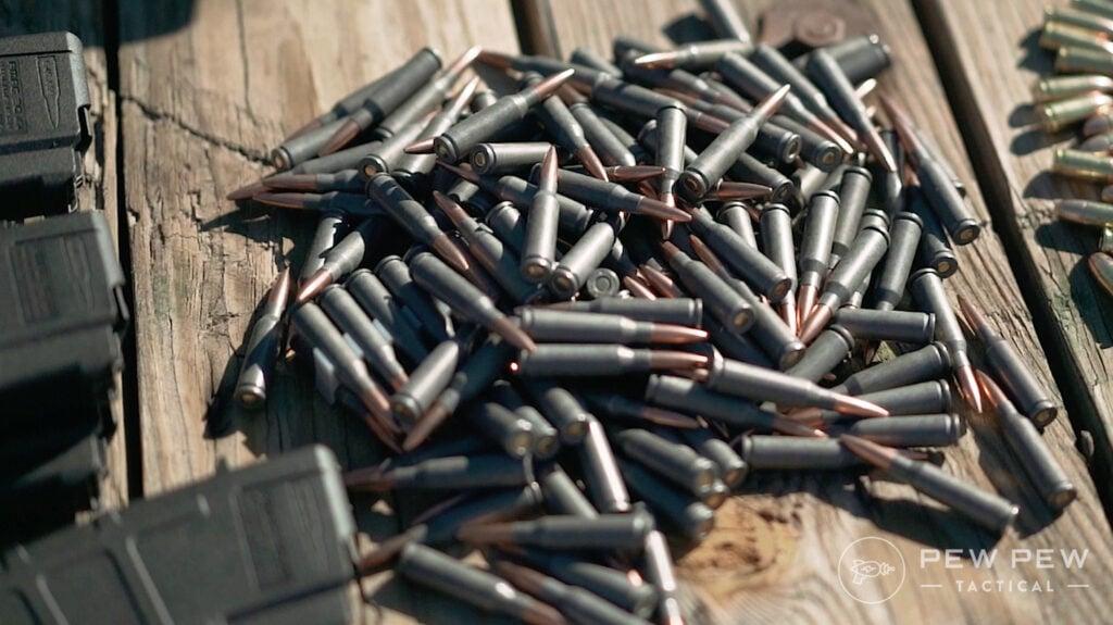 PSA AK74 Ammo Pile